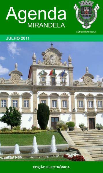 Agenda - Câmara Municipal de Mirandela