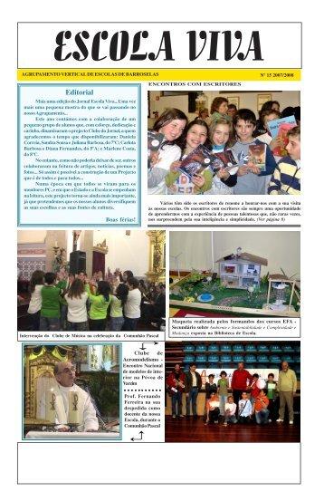 Editorial - Agrupamento de Escolas de Barroselas