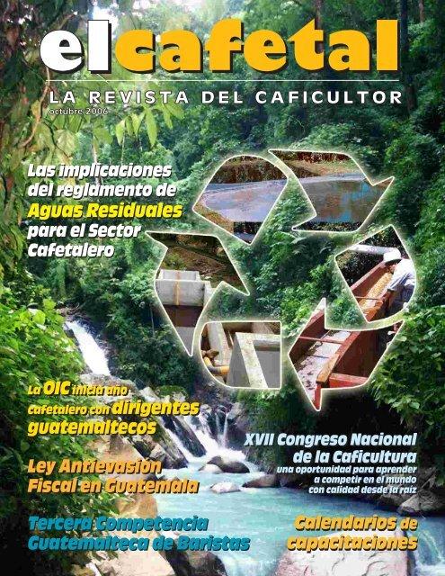Aguas Residuales Aguas Residuales - Anacafé