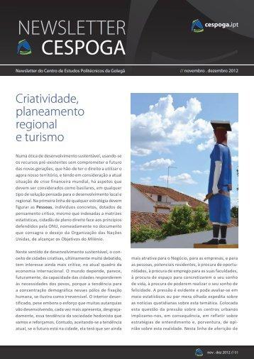 Criatividade, planeamento regional e turismo - Cespoga - Instituto ...