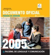 Ensayo oficial DEMRE 2005