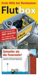 Erste Hilfe bei Hochwasser - Rohrreinigungs-Service RRS GmbH