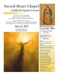 Sacred Heart Chapel - Download Parish Bulletin