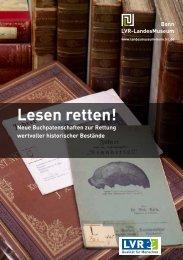 Buchpatenschaften-Katalog - LVR-LandesMuseum Bonn