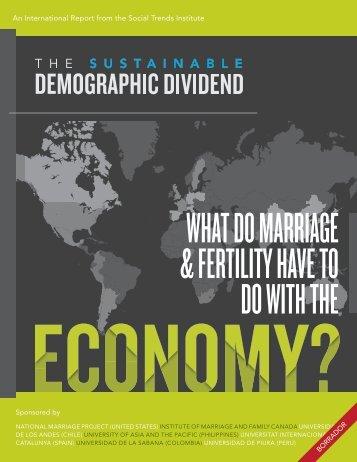 El dividendo demografico sostenible - Jorge Landa