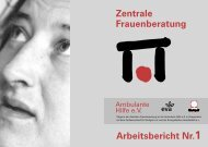 Zentrale Frauenberatung - Ambulante Hilfe Stuttgart