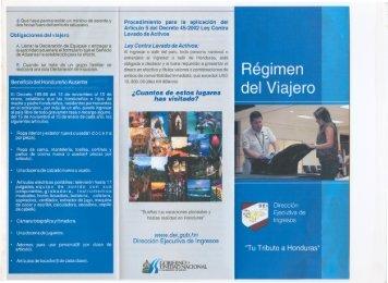 Régimen del Viajero - Dirección Ejecutiva de Ingresos