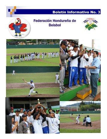 Federación Hondureña de Beisbol - Condepah