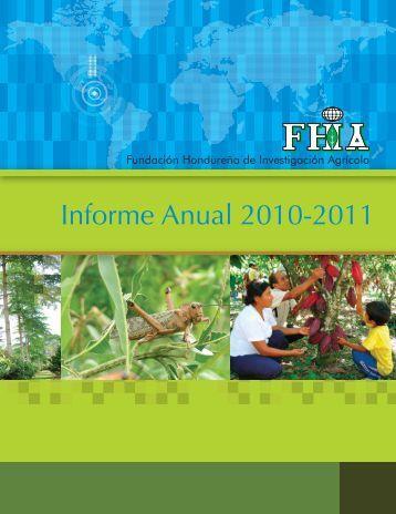 Informe Anual 2010-2011 - FHIA