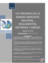 DIRECCION GENERAL DE LA MARINA MERCANTE - Dirección ...