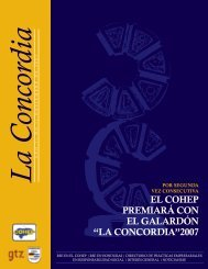 La Concor dia - Consejo Hondureño de la Empresa Privada