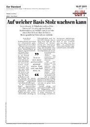 Der Standard 16.07.2011
