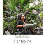Ver Catalogo de la Exposición (PDF 1mb) - Flor Molina