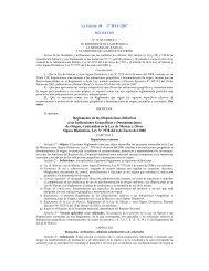 Reglamento de las disposiciones relativas a las indicaciones ...