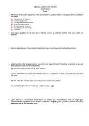 LENGUA SEGUNDO CURSO EJERCICIOS Tema 1 - Efa Moratalaz