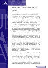 Resolución I.G.J. nº 1319, expte. Castalia Sociedad de ... - UNAV