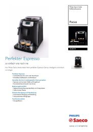 HD8751/11 Philips Kaffeevollautomat