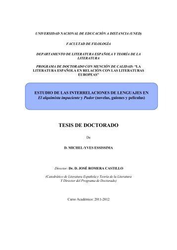 TESIS DE DOCTORADO - e-Spacio - UNED