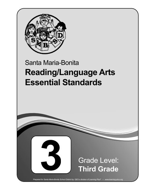 Essential Standards Santa Maria Bonita School District