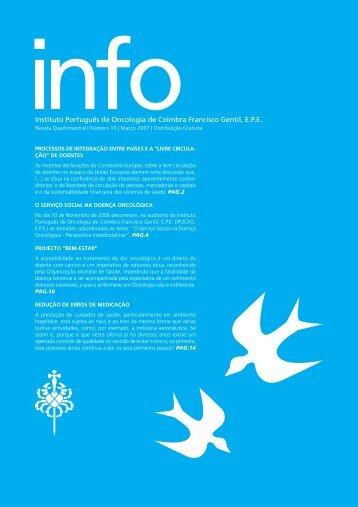 INFO 10 - Instituto Português de Oncologia de Coimbra - Francisco ...