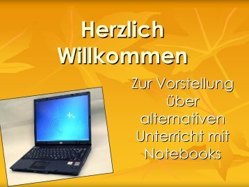 Das Notebook - Maximilian-Lutz-Realschule