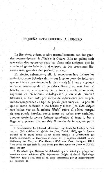 PEQUE~A INTRODUCCION A HOMERO - InterClassica