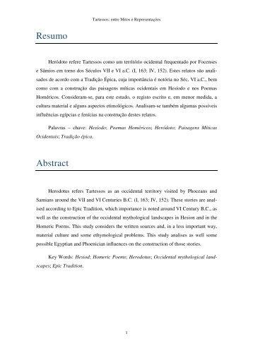 Resumo Abstract - Repositório da Universidade de Lisboa