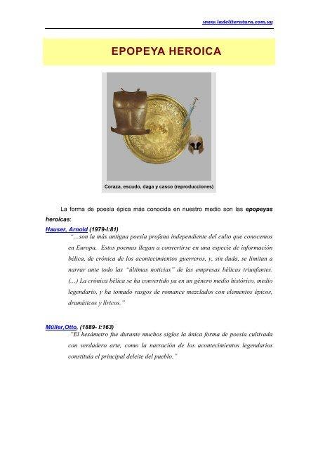 5f549614b EPOPEYA HEROICA - Ladeliteratura.com.uy