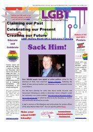 Bulletin 103 - LGBT History Month