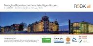 Energieeffizientes und nachhaltiges Bauen