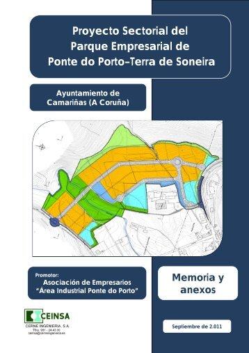 Proyecto Sectorial del Parque Empresarial de Ponte do Porto–Terra ...