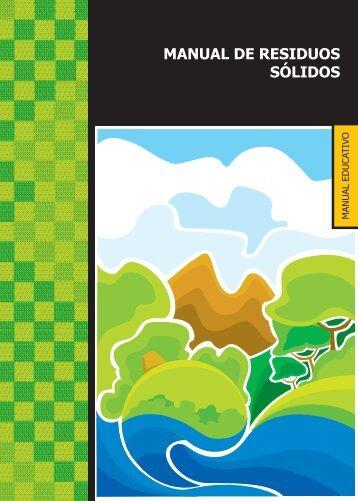 MANUAL DE RESIDUOS SÓLIDOS - sinia - Ministerio del Ambiente