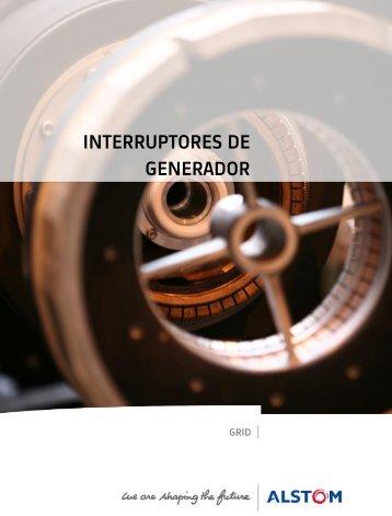 INTERRUPTORES DE GENERADOR - Alstom