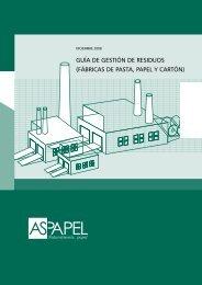 residuos de la industria papelera - Aspapel