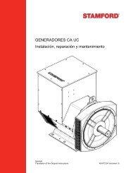 generadores controlados por AVR - Cummins Generator Technologies