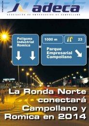 La Ronda Norte conectará Campollano y Romica en 2014 - ADECA ...