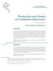 Producción más Limpia en la Industria Alimentaria - Corporación ...