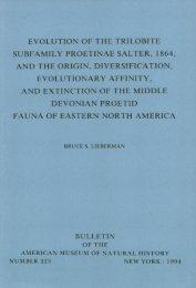 fauna of eastern north america - AMNH DSpace Digital Repository ...