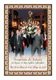 Programa Fiestas San Isidro en Utiel 2012