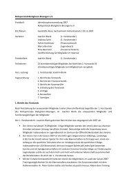 Protokoll Mitgliederversammlung 2007 - Rollsportclub Bietigheim ...