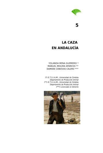 LA CAZA EN ANDALUCÍA - Economía Andaluza