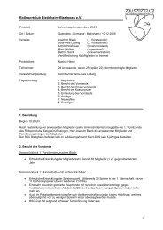 Protokoll Mitgliederversammlung 2009 - Rollsportclub Bietigheim ...