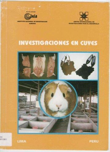 INVESTIGRCIONES EN CUYES