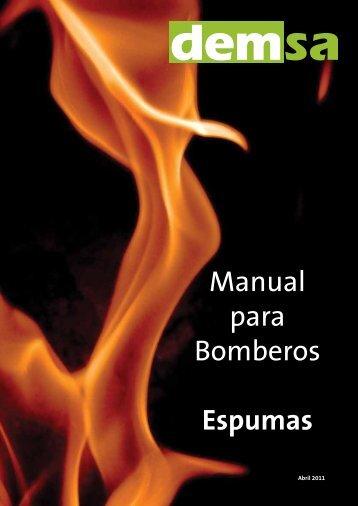 Manual para Bomberos Espumas - Demsa.com.ar