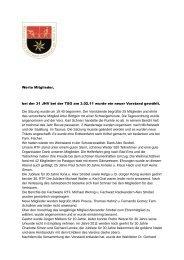 Bericht JHV 2011