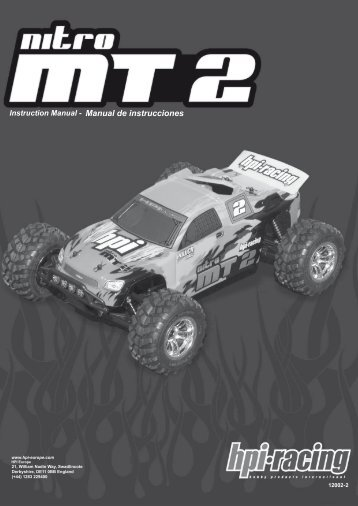 Manual de instrucciones - HPI Europe