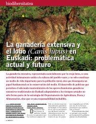 La ganadería extensiva y el lobo (Canis lupus) en Euskadi ...
