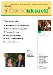 aktuell - Alzheimer Gesellschaft Baden-Württemberg