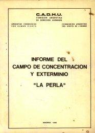 Informe del Campo de Concentracion y Extermino ... - Ruinas Digitales