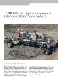 Extendedora de encofrado deslizante SP 850 - Wirtgen GmbH - Page 2